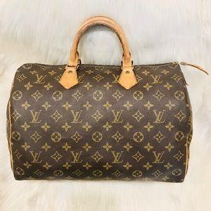 Authentic Louis Vuitton Speedy 35 #5.3aja